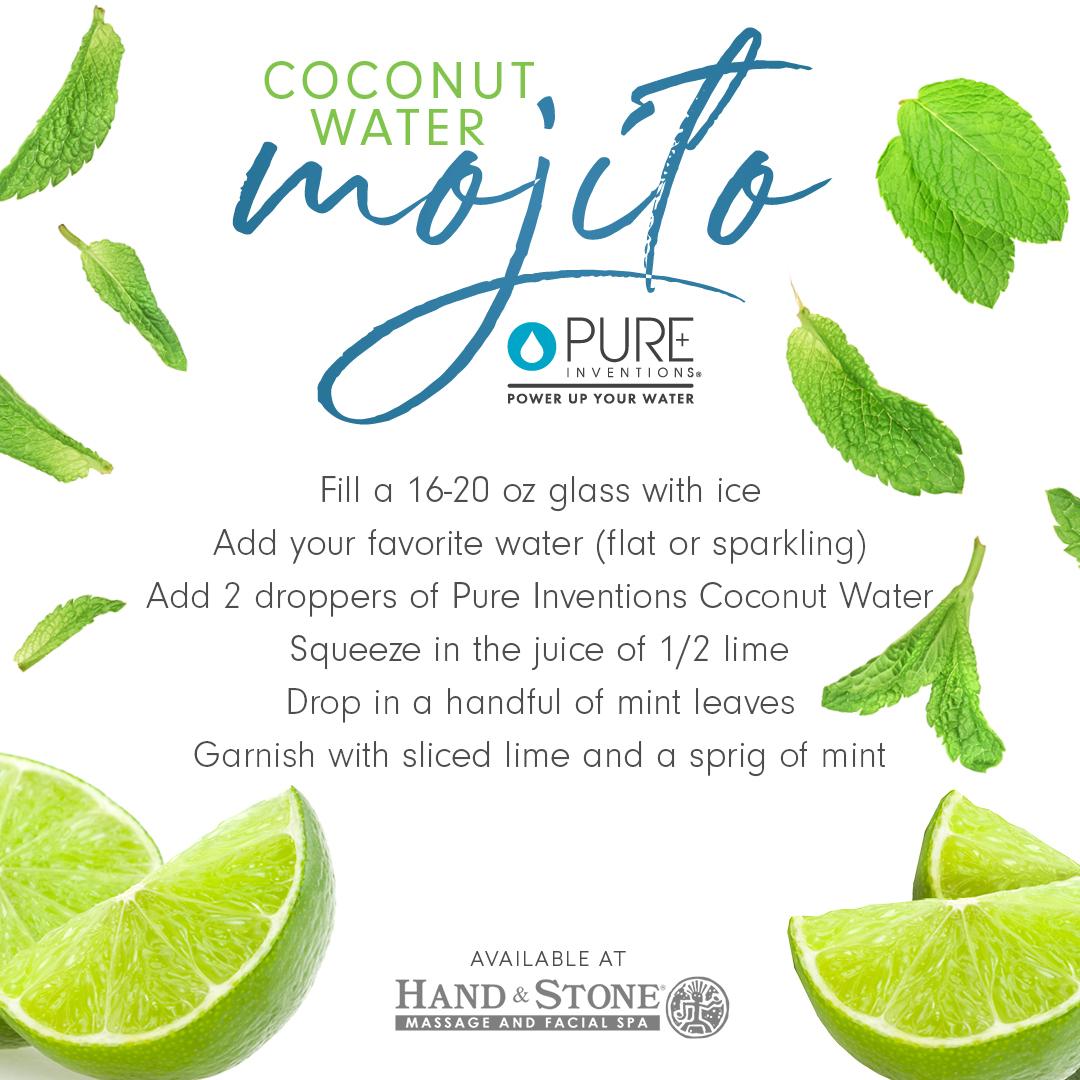 Coconut Water Mojito