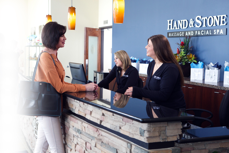 Reception - Hand & Stone